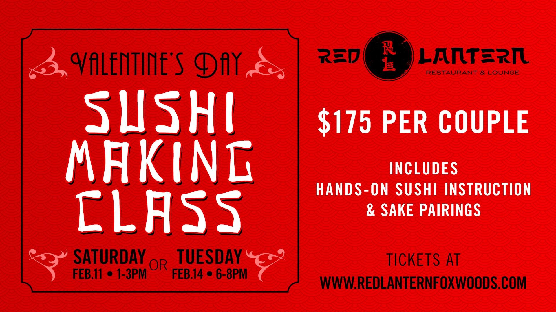 valentine's day sushi