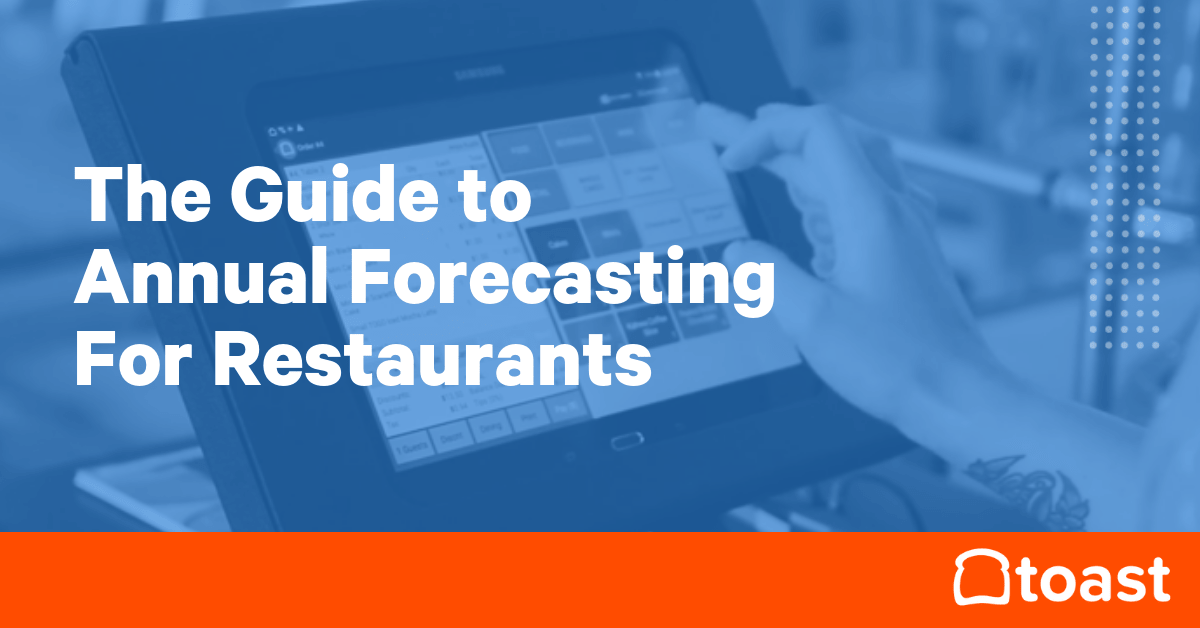 forecasting for restaurants