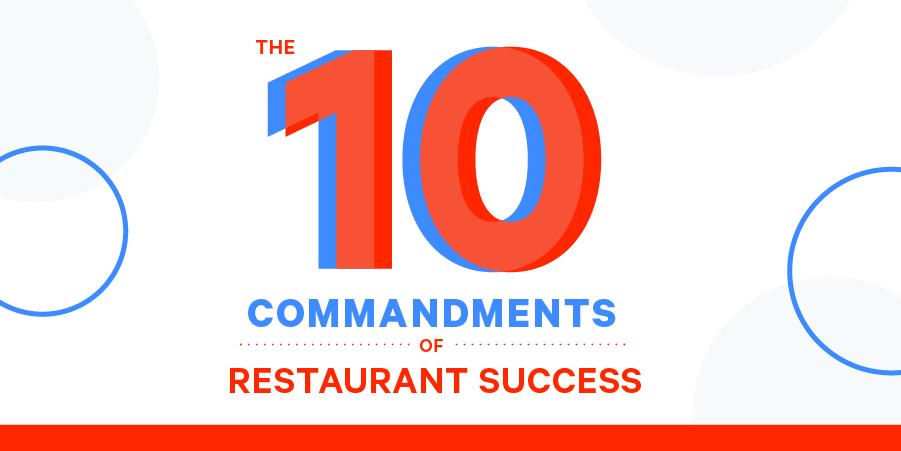 restaurant commandments