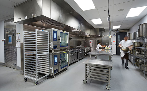 kitchen design in restaurants