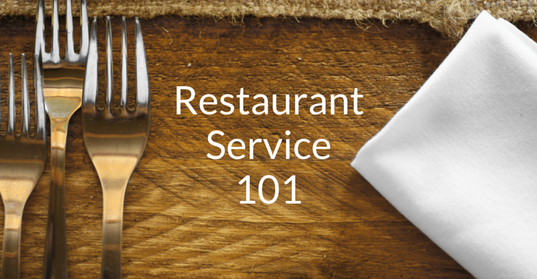 quality restaurant service