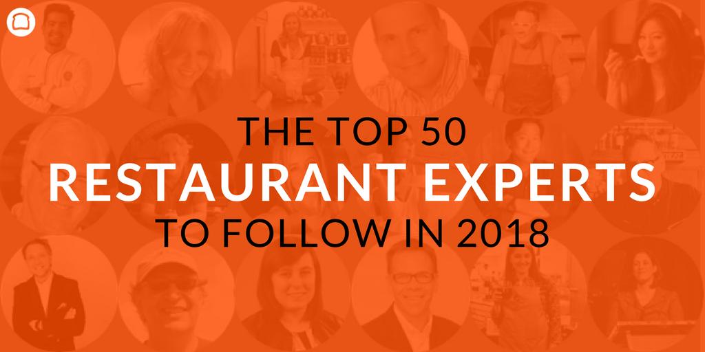 restaurant experts 2018