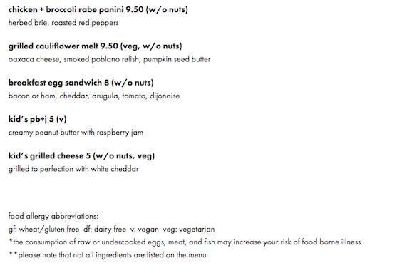 Flour Bakery Online Menu