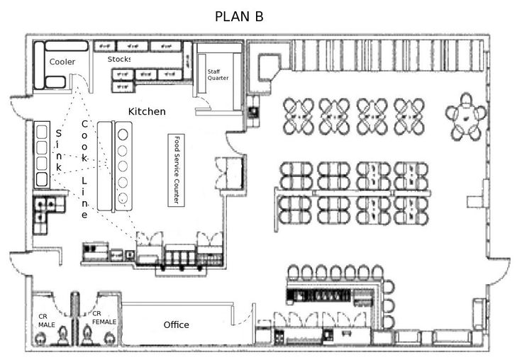 9 Restaurant Floor Plan Examples & Ideas for Your Restaurant ...