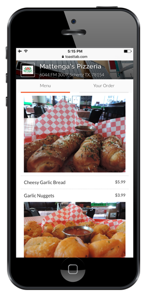 digital food ordering