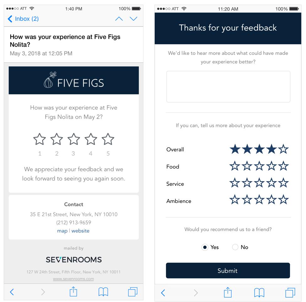 guest feedback