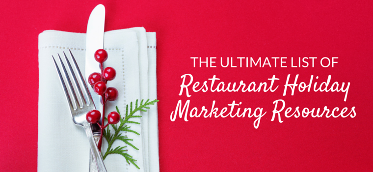 restaurant holiday marketing