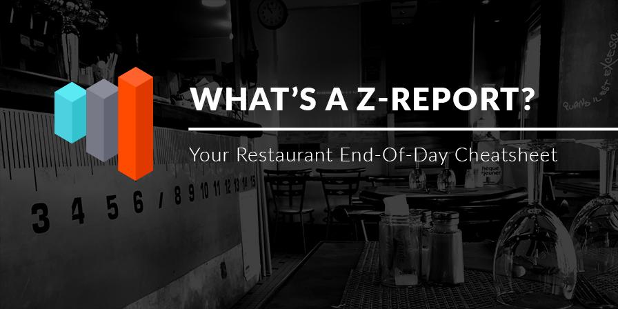 restaurant z report